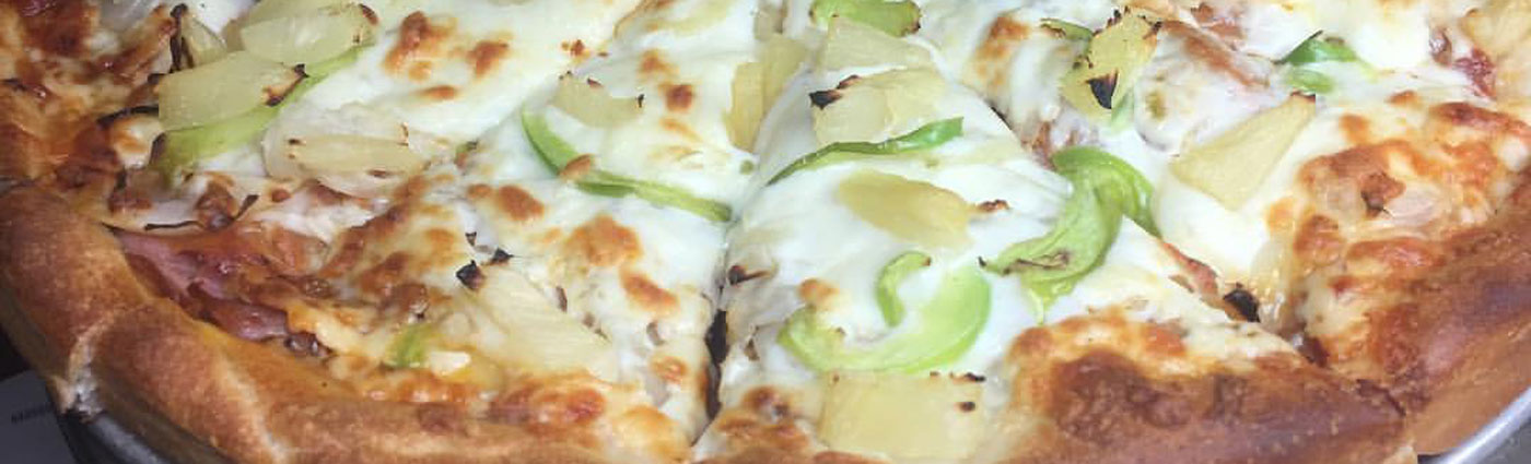 Pineapple Pepper Pizza